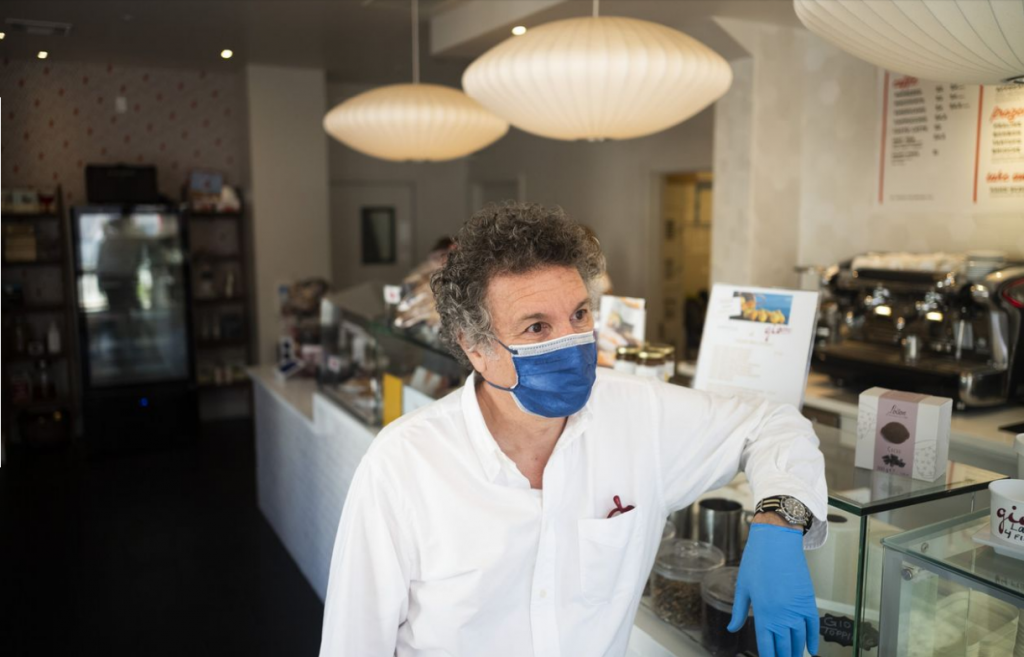 Guido Mastropaolo, owner of GIO Gelati in San Francisco, says, 'In Italy we have two antidepressants: espresso and gelato.'